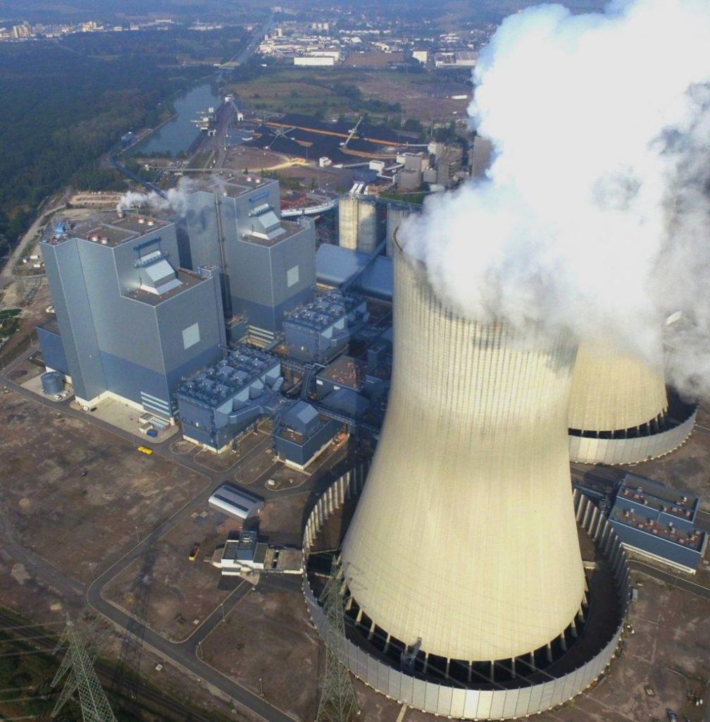jaderná energie - Obraz Německa jako světového lídra nové energetiky dostal vážnou trhlinu - Životní prostředí (2121 westfalenluftaufnahmeblockekuumlhlturm 1024) 1