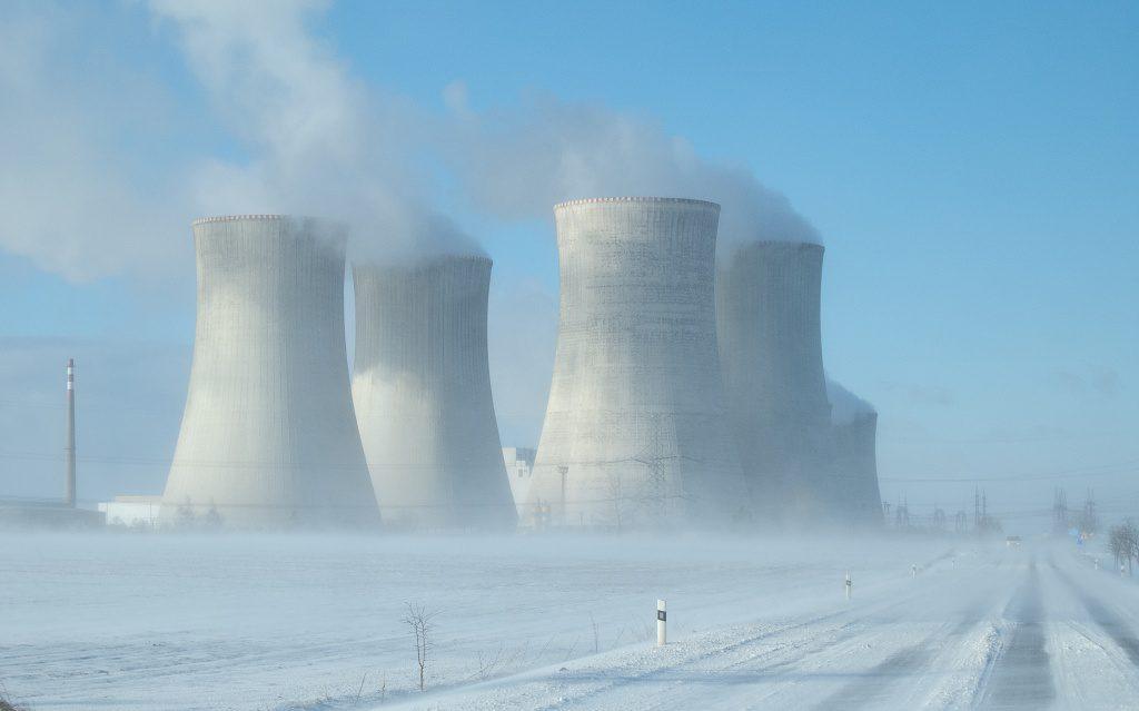 jaderná energie - Dukovany a Temelín mají díky mrazu vyšší produkci než v létě - V Česku (DSCN1104 1024) 1