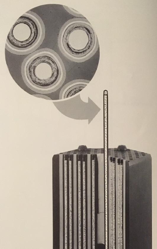 jaderná energie - Fort St. Vrain v obrázcích, část 3 - Fotografie (Fort St Vrain Fuel Composite Photo) 3