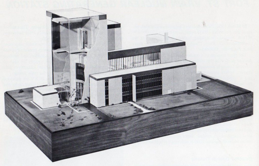 jaderná energie - Fort St. Vrain v obrázcích, část 2 - Fotografie (Fort St Vrain Model 1 1024x656) 1