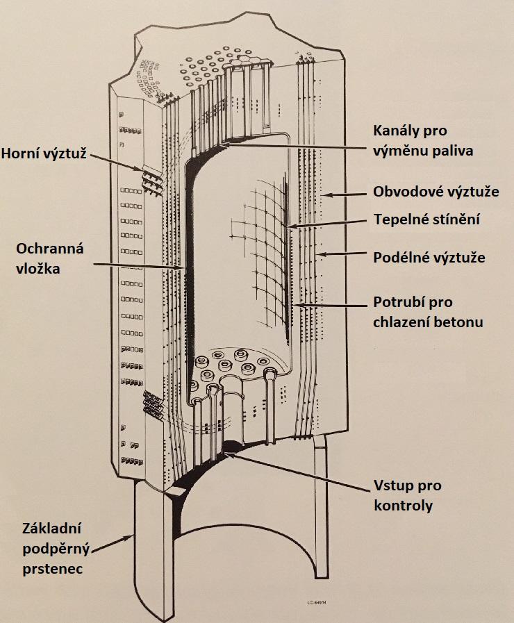 jaderná energie - Fort St. Vrain v obrázcích, část 2 - Fotografie (Fort St Vrain PCRV parts uprava) 4