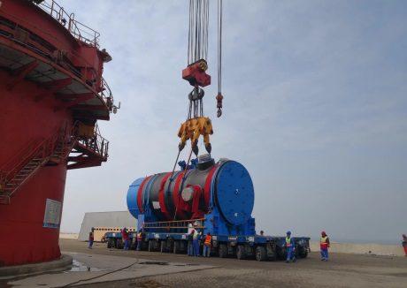 jaderná energie - Začala instalace reaktorové nádoby v pátém bloku JE Chung-jen-che - Nové bloky ve světě (Hongyanhe 5 RPV 460 CGN) 1
