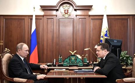 Rosatom informoval ruského prezidenta o strategických cílech