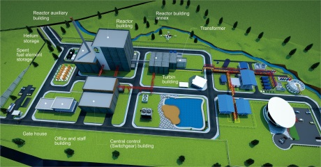 jaderná energie - Pokrok s indonéským projektem reaktoru SMR - Ve světě (RDE 460 Batan) 3