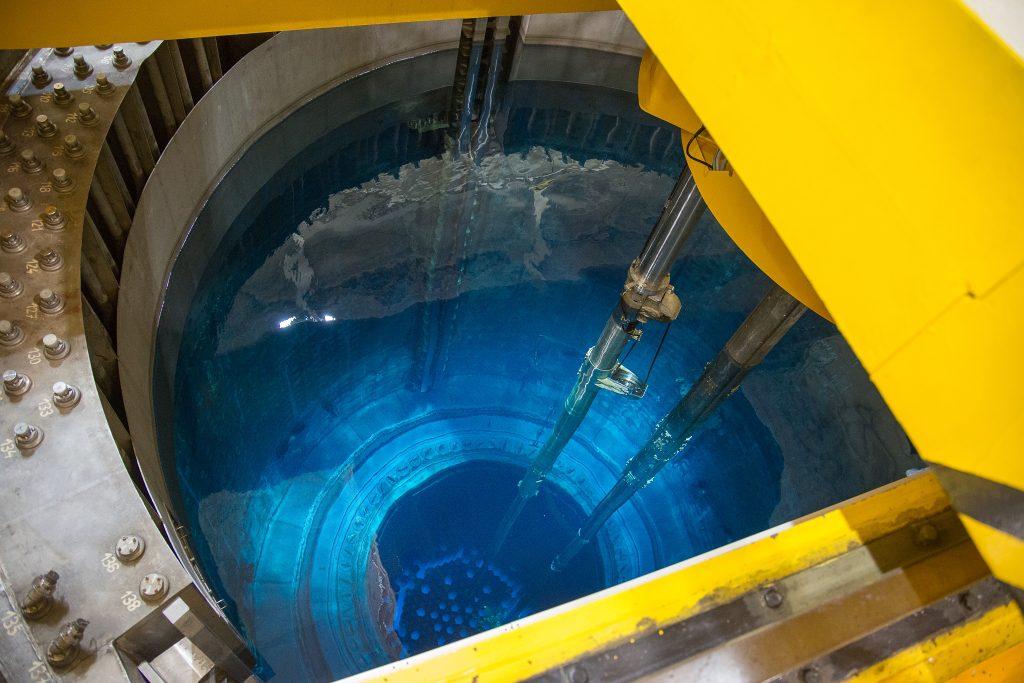 jaderná energie - V odstaveném 2. bloku Dukovan energetici dokončili výměnu paliva - V Česku (S133796 1024) 1