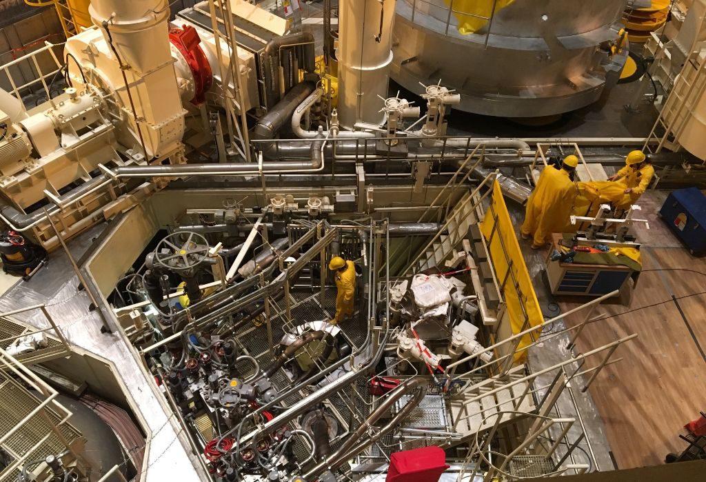 jaderná energie - V Temelíně provedli největší softwarovou změnu v bezpečnostních systémech od začátku provozu - V Česku (pojistne ventily bylo potreba opravit i po technicke stranky) 1