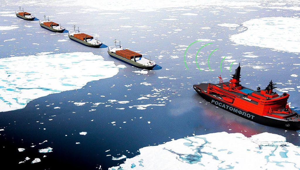 jaderná energie - Rosatom ve spolupráci soceánology vyvíjí lodě pro cesty do Arktiky bez posádky - Věda a jádro (1517933861 1024) 1