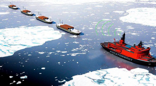 Rosatom ve spolupráci soceánology vyvíjí lodě pro cesty do Arktiky bez posádky