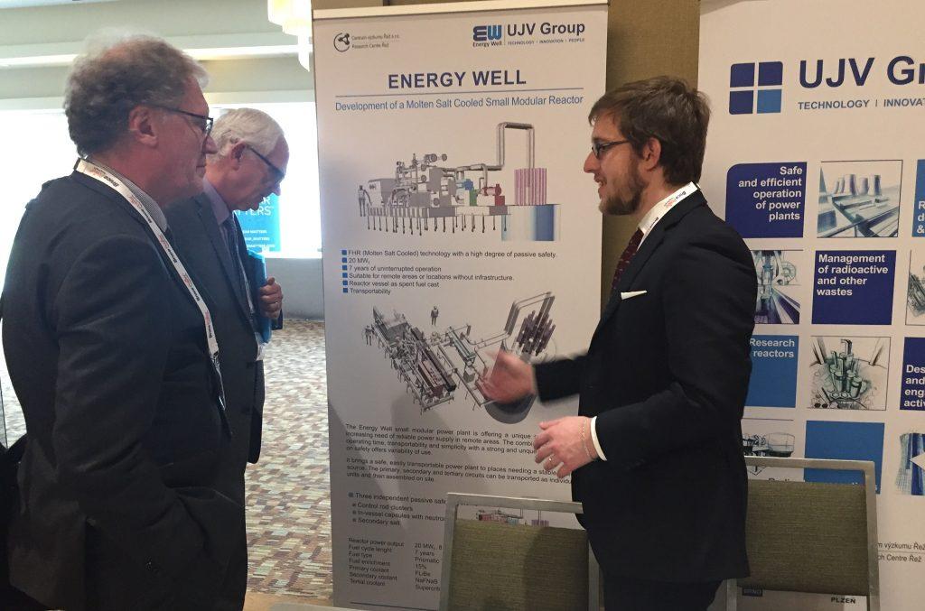 jaderná energie - Česko zaujalo na konferenci o SMR v Atlantě - Inovativní reaktory (2018 EW Atlanta 02 1024) 1
