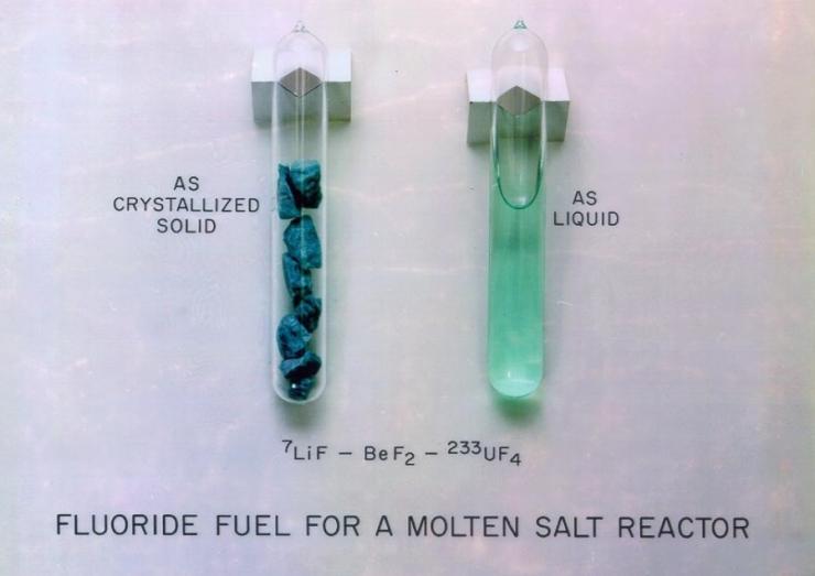 jaderná energie - Solný reaktor IMSR-400 - Inovativní reaktory (Fluoridová sůl 740) 2
