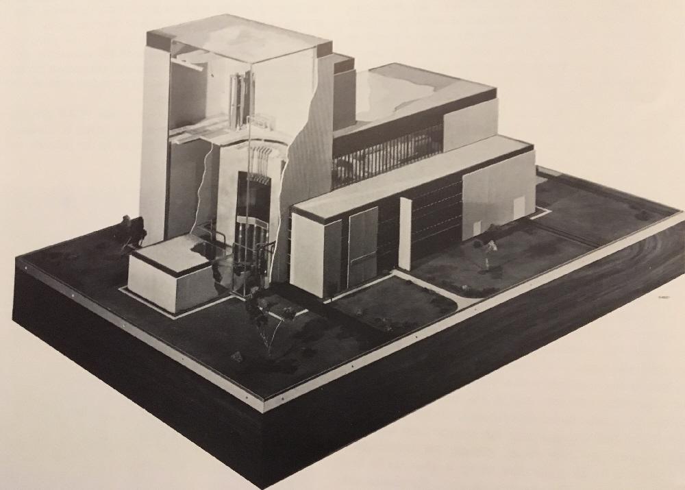 jaderná energie - Fort St. Vrain v obrázcích, část 5 - Fotografie (Fort St Vrain Model second view) 1