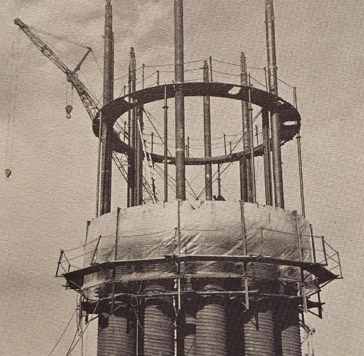 jaderná energie - Fort St. Vrain v obrázcích, část 5 - Fotografie (Fort St Vrain lower head assembly) 5