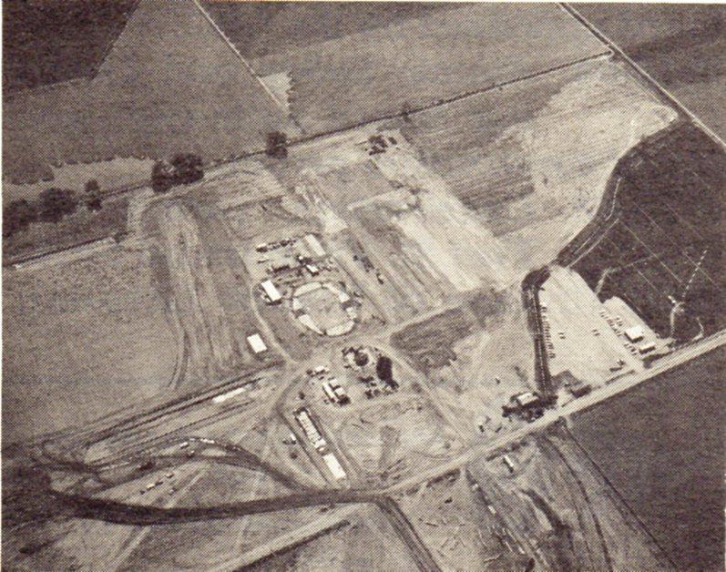 jaderná energie - Fort St. Vrain v obrázcích, část 5 - Fotografie (Fort St Vrain site preparation) 2