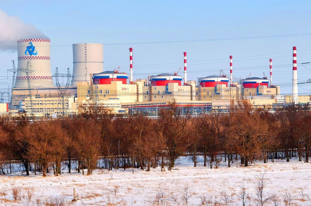 jaderná energie - 4. blok Rostovské JE dosáhl 100% výkonu - Nové bloky ve světě (Rostovska JE 1024) 2