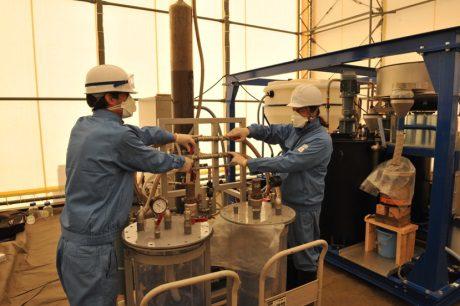 jaderná energie - Testování francouzské metody dekontaminace půdy ve Fukušimě - Ve světě (Testing of French soil decontamination process in Fukushima 460 J L Sida CEA) 1