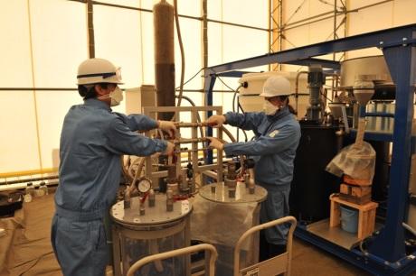 jaderná energie - Testování francouzské metody dekontaminace půdy ve Fukušimě - Ve světě (Testing of French soil decontamination process in Fukushima 460 J L Sida CEA) 3