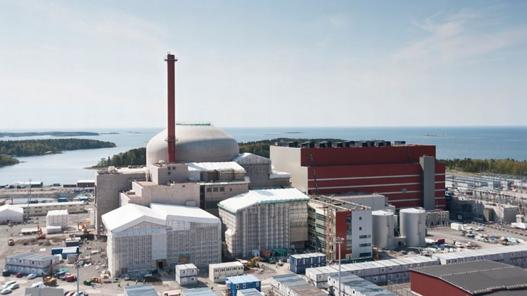 jaderná energie - Euractiv: Fínsko skončí s uhlím v roku 2029. Nahradí ho jadrom - Životní prostředí (olkiluoto 3 ydinvoima ydinvoimala 740) 1