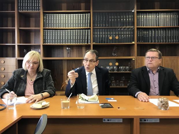 jaderná energie - Energetické Třebíčsko: Francouzský velvyslanec potvrdil zájem Francie usilovat o výstavbu 5. bloku - Nové bloky v ČR (196middle) 3
