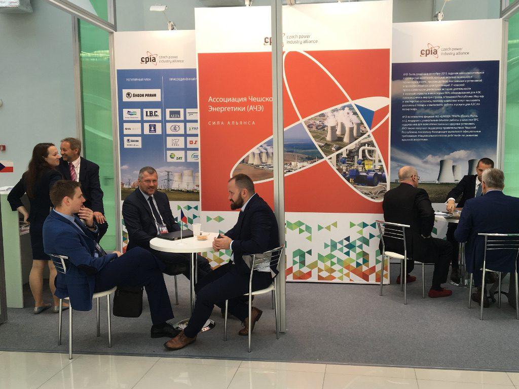 jaderná energie - V Soči začalo 10. mezinárodní jaderné fórum Atomexpo 2018 - Ve světě (Stánek Aliance české energetiky2 1024) 4
