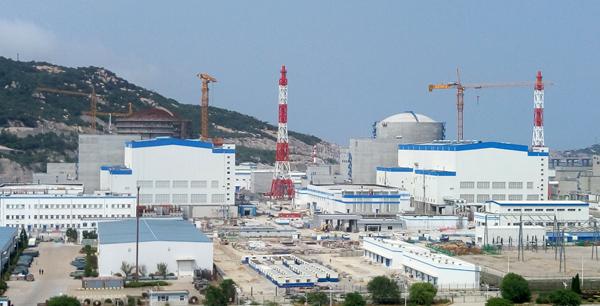 jaderná energie - 4. blok čínské JE Tchien-wan s reaktory VVER prošel horkými testy - Nové bloky ve světě (bloky 3a4) 1