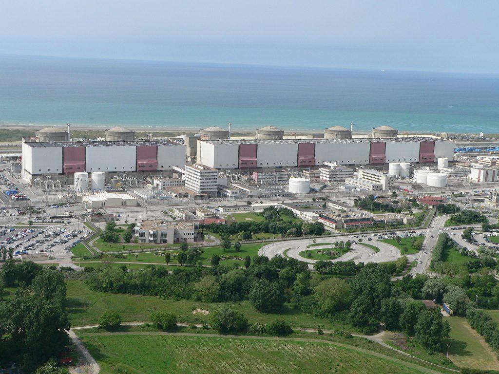 jaderná energie - Přes 80 % jaderné elektřiny v EU produkuje 5 zemí - Ve světě (centrale gravelines 1024) 1