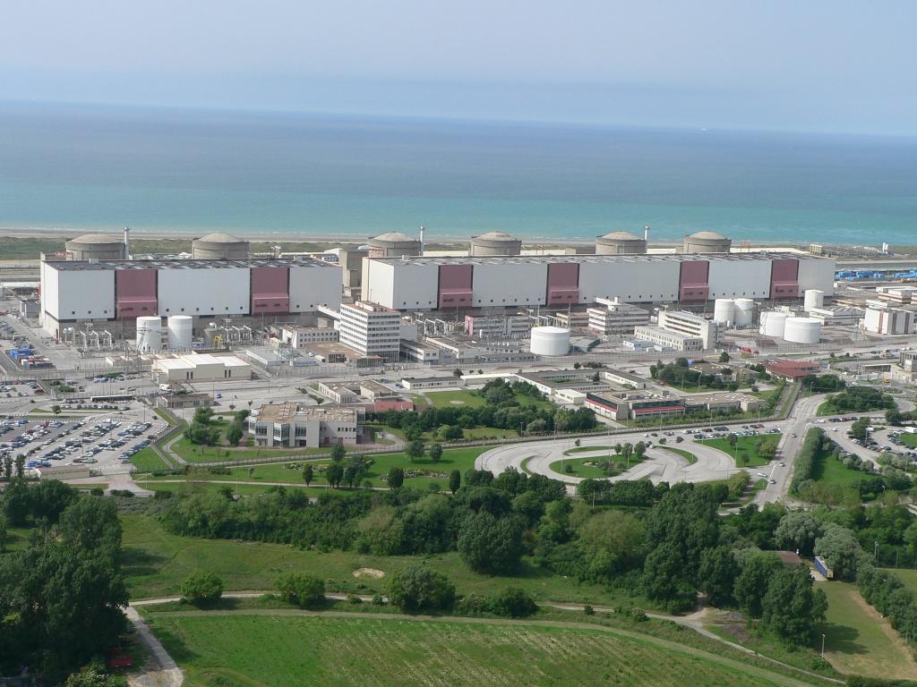 jaderná energie - Přes 80 % jaderné elektřiny v EU produkuje 5 zemí - Ve světě (centrale gravelines 1024) 3