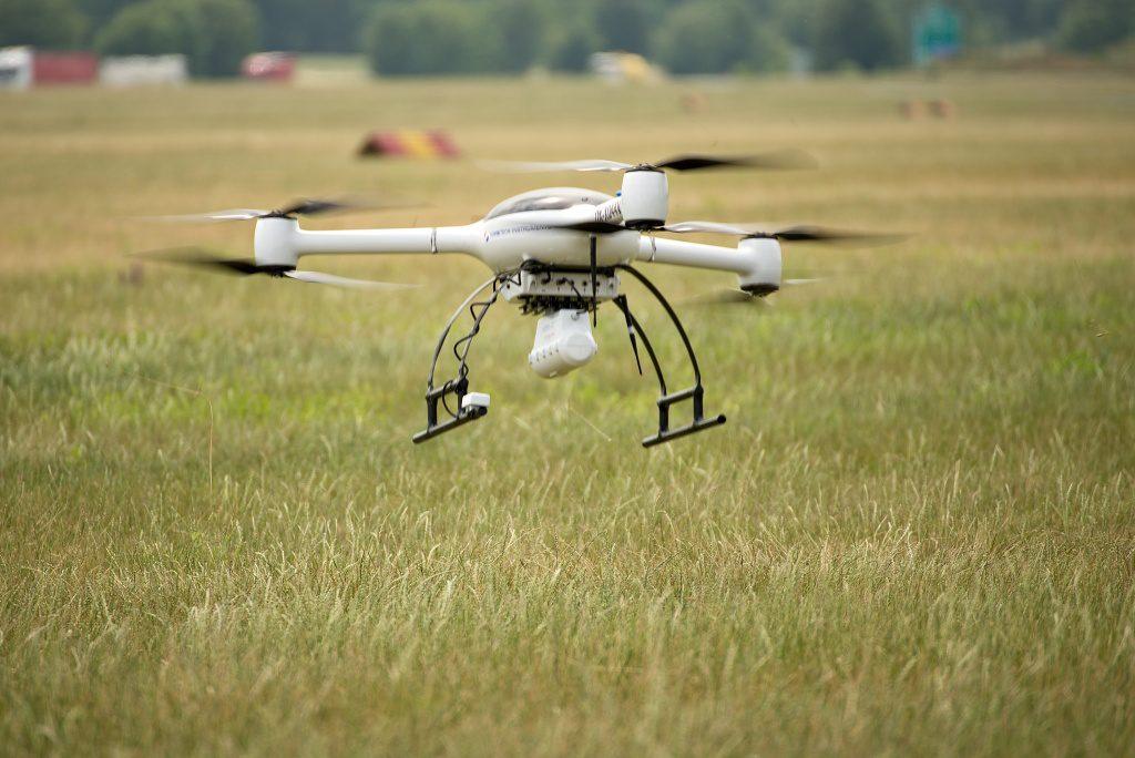 jaderná energie - Vrtulník i dron – Nuvia předvedla radiační monitoring při mimořádných situacích - V Česku (DSC 2441 1024) 5