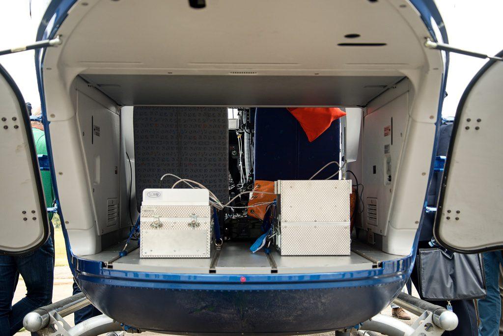 jaderná energie - Vrtulník i dron – Nuvia předvedla radiační monitoring při mimořádných situacích - V Česku (DSC 2527 1024) 3