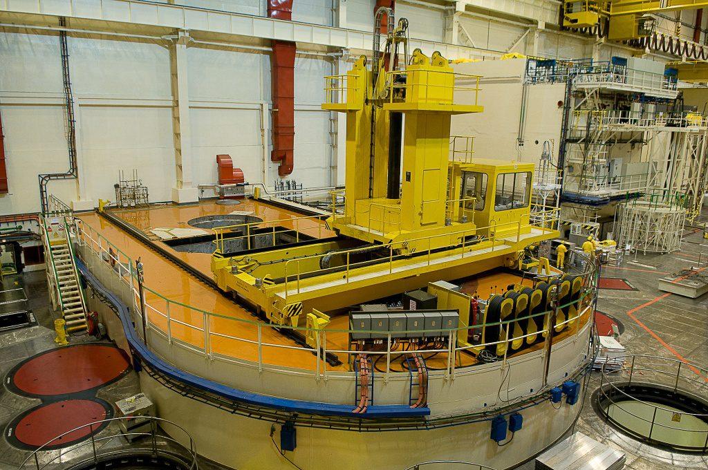 jaderná energie - Energetici na 1. bloku vDukovanech dokončili zavážku čerstvého paliva - V Česku (DSC 4322 1024) 1