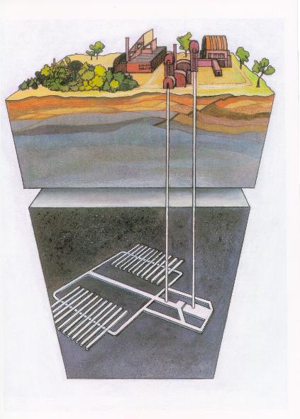 jaderná energie - Hlubinné úložiště jaderného odpadu Česká republika potřebuje. Vybrat pro něj lokalitu se musí otevřeně, rozumně a včas - Back-end (Koncept HU v CR imagelarge) 3