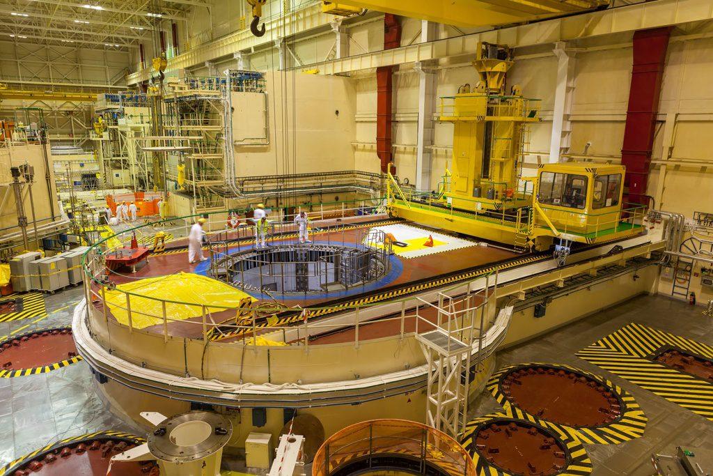 jaderná energie - Po šiestich týždňoch ukončili rozšírenú odstávku 4. bloku Atómových elektrární Bohunice V2 - Ve světě (Reaktorová sála AE Bohunice 1024) 1