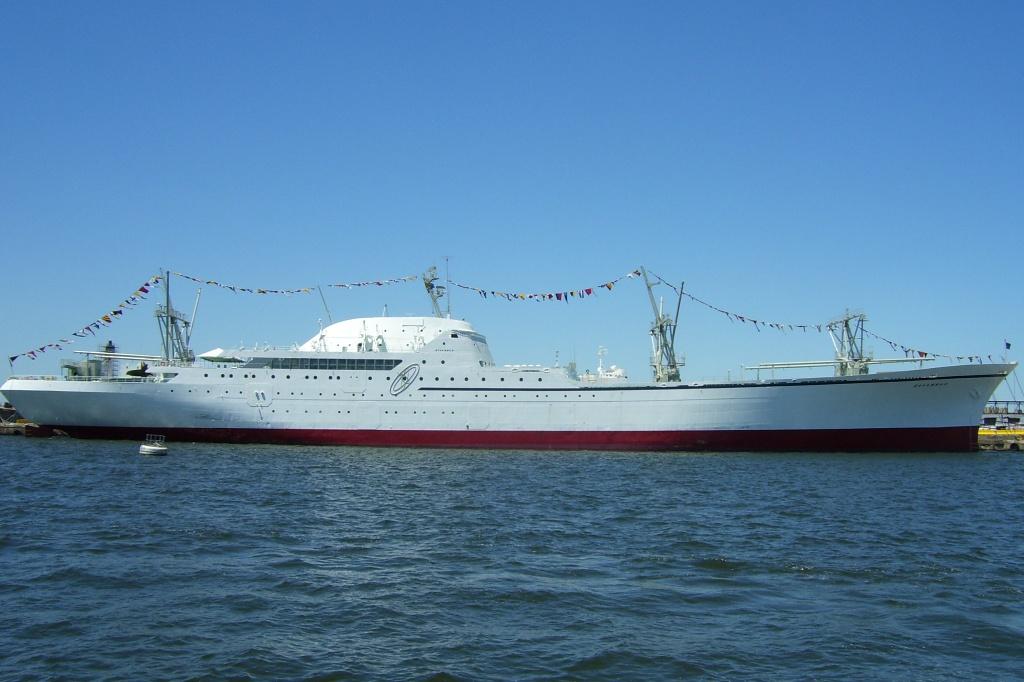 jaderná energie - Co čeká jedinou americkou civilní jadernou loď NS Savannah? - Jádro na moři (Savannah Waterside 1024) 2