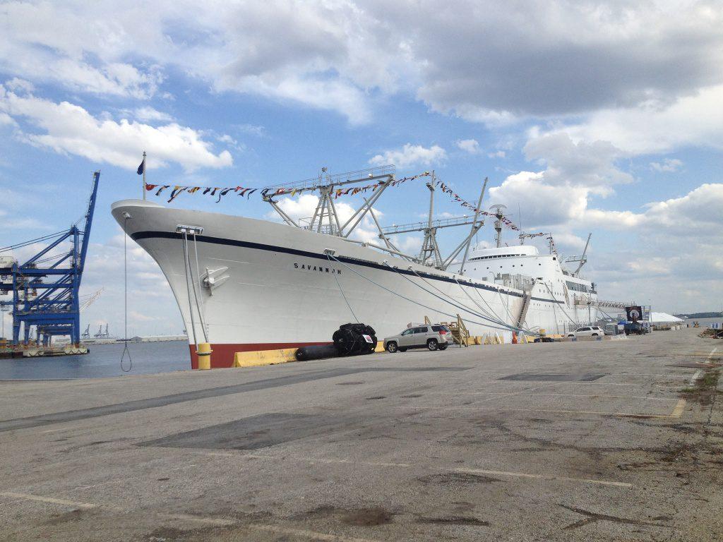 jaderná energie - Co čeká jedinou americkou civilní jadernou loď NS Savannah? - Jádro na moři (SavannahDocksideMay2014 1024) 3
