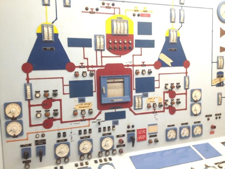 jaderná energie - Co čeká jedinou americkou civilní jadernou loď NS Savannah? - Jádro na moři (SavannahReactorControl 740) 2