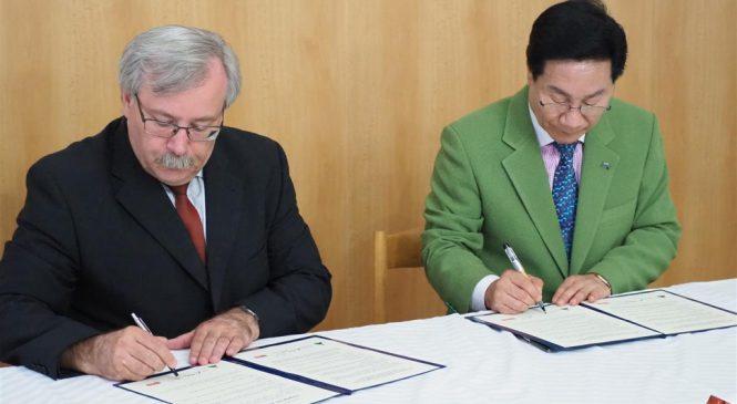 Zástupci Třebíče a jihokorejského města Ulju-gun podepsali memorandum o porozumění