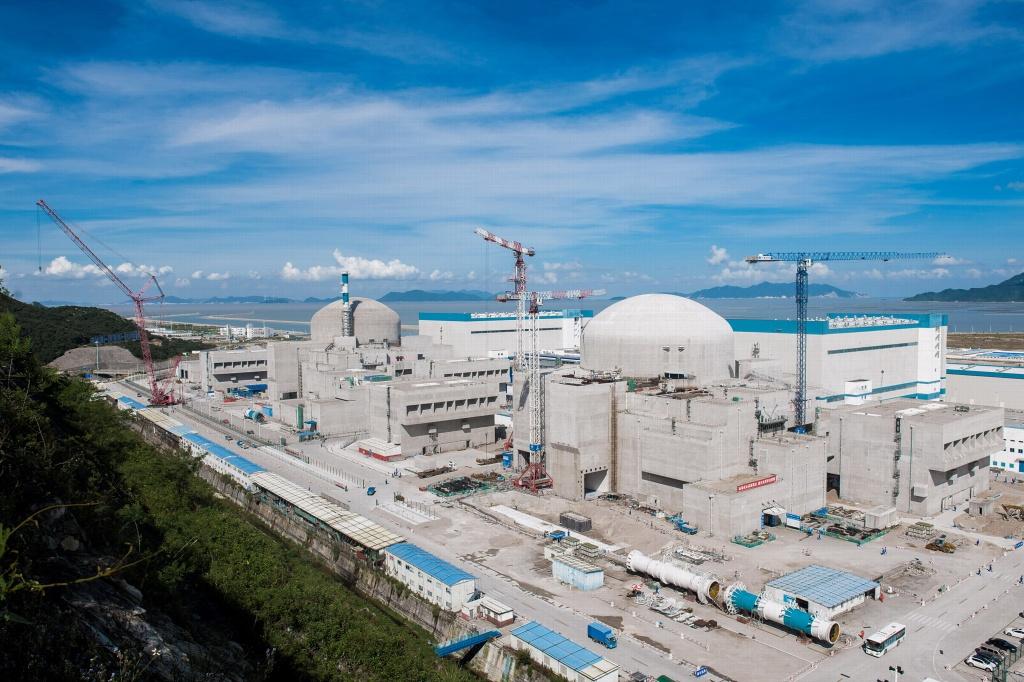 jaderná energie - Regulátor upřesňuje plány na uvedení 1. bloku JE Tchaj-šan 1 do provozu - Nové bloky ve světě (taishan 1a2 listopad2017 1024) 2