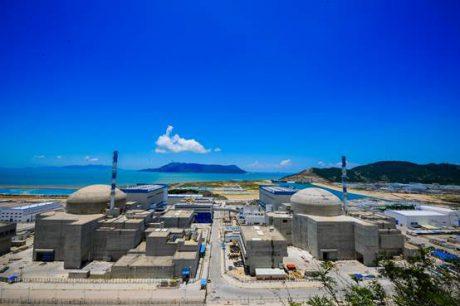 jaderná energie - V reaktoru EPR v čínském Tchaj-šanu proběhla první jaderná reakce - Nové bloky ve světě (taishan začátek 2018) 1