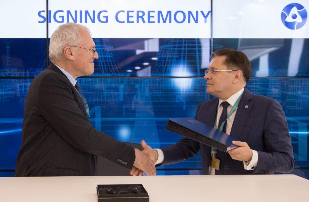 jaderná energie - Rosatom a EDF rozšiřují spolupráci ve výzkumu a vývoji - Ve světě (Rosatom EDF MoU preview 1024) 1