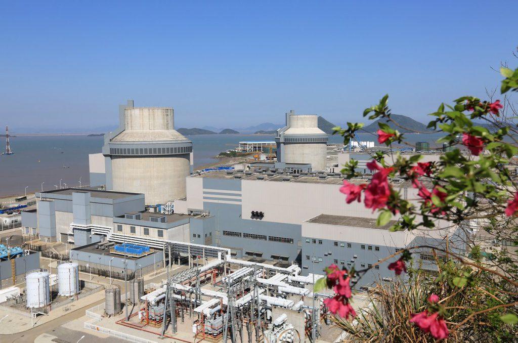 jaderná energie - Čínský San-men 2 připraven pro zavezení paliva - Nové bloky ve světě (san men 1a2  Westinghouse 1024) 1