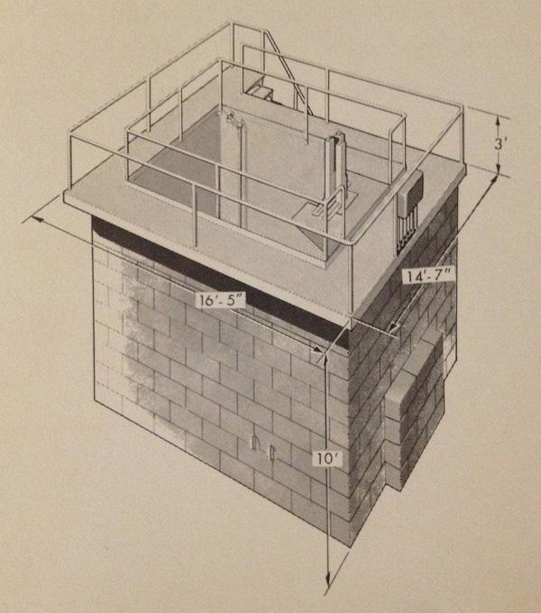jaderná energie - Bazénové reaktory – úvod - Ve světě (ACF Pool Reactor Vertical Fix Dimensions) 8