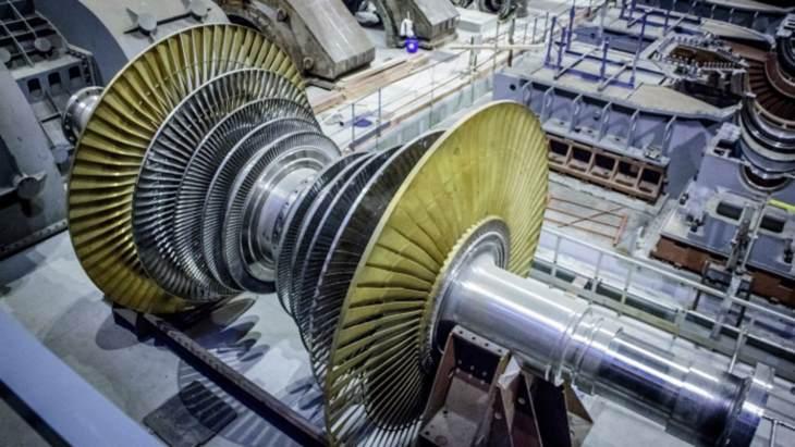 jaderná energie - Na druhém bloku Leningradské II elektrárny bylo instalováno turbínové vybavení - Nové bloky ve světě (Leningrad II 2 turbine) 1