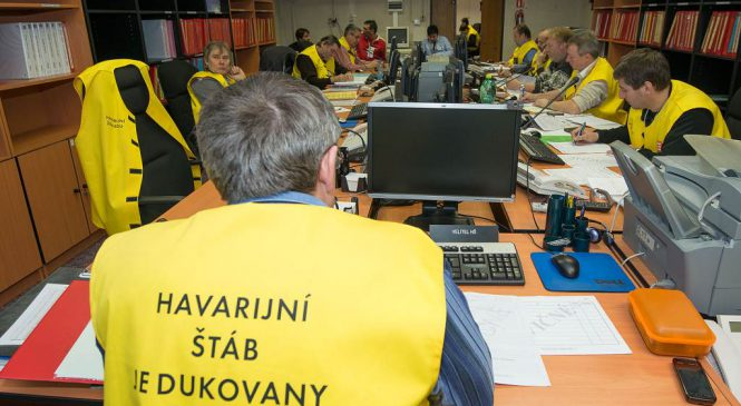 V Dukovanech začíná dvoudenní havarijní cvičení s ukrytím lidí