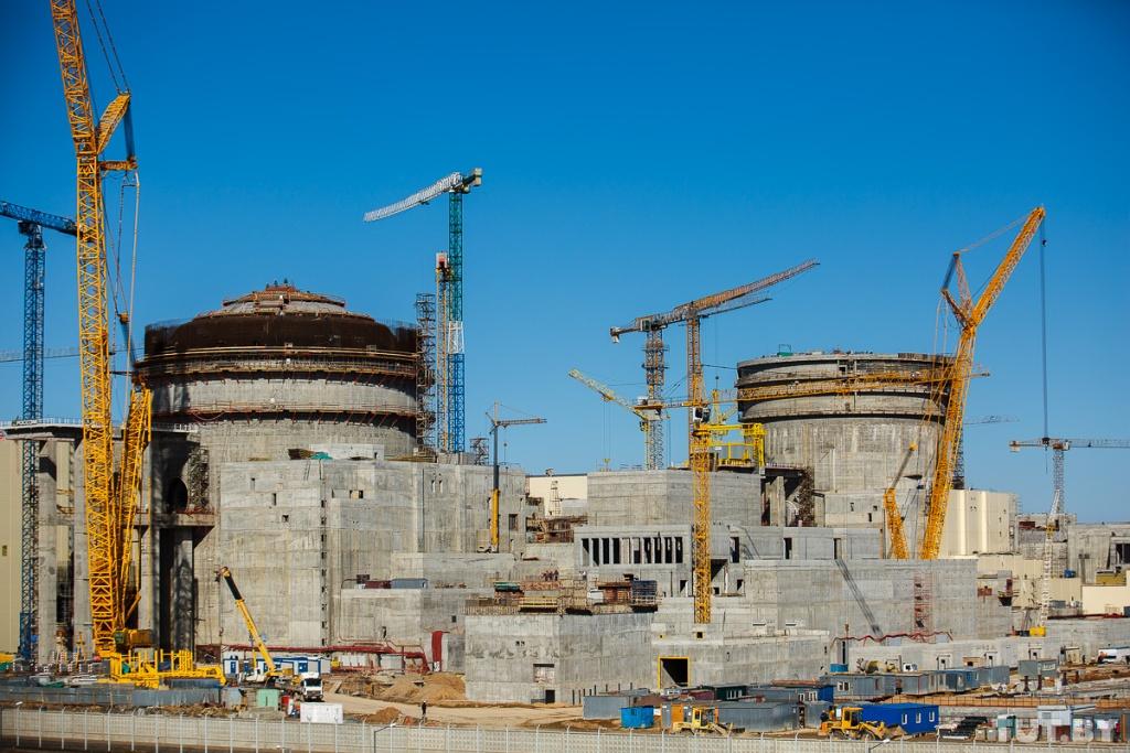 jaderná energie - Jaderné palivo dorazí do Ostrověcké JE v prosinci - Nové bloky ve světě (Výstavba Běloruské JE Zdroj Belaes.by 1024) 3