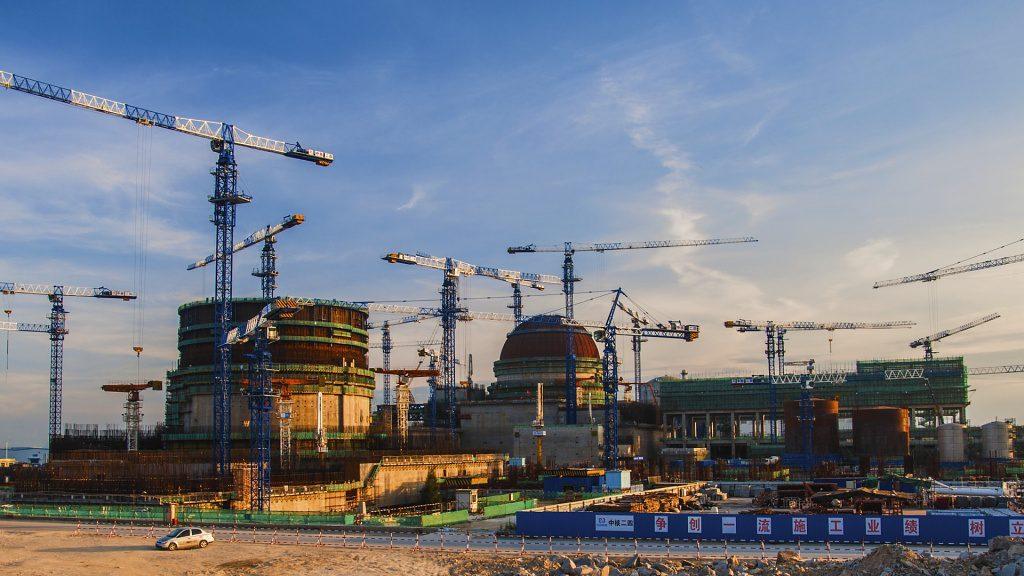 jaderná energie - Reaktor HPR-1000 - vznik, technické údaje, bezpečnost - Nové bloky ve světě (fuqing 6 nalevo a 5 1024) 1