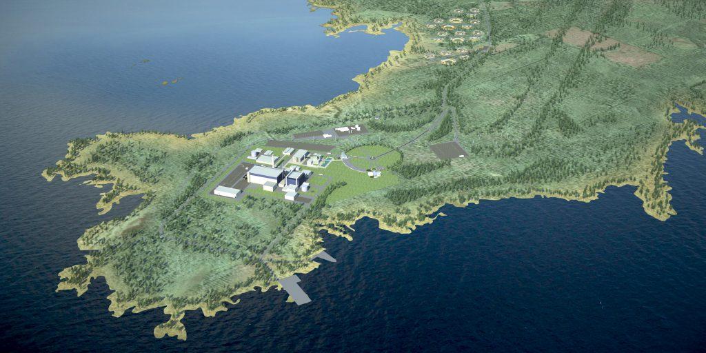 jaderná energie - Zahájení výstavby prvního bloku JE Hanhikivi se očekává v roce 2020 - Nové bloky ve světě (hanhikivi havainnekuva iso) 1