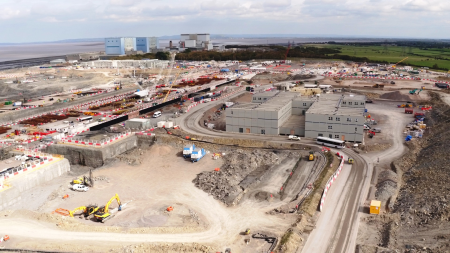 """jaderná energie - Hinkley Point C je """"velkým riskem"""", ale rozhodující příležitostí pro jaderný průmysl - Nové bloky ve světě (hinkleysite2 sep2017 dd courtesy EDF Energy.jpg 1) 1"""