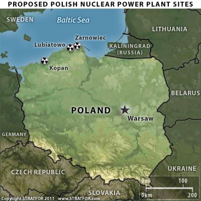 jaderná energie - Polská vláda schválí do konce tohoto roku aktualizovaný jaderný plán - Nové bloky ve světě (polishnukeplants) 2