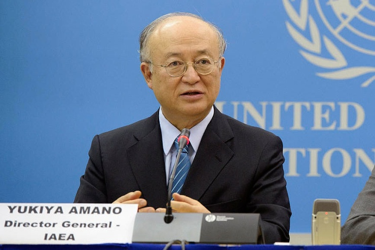 jaderná energie - Šéf MAAE: Bez jádra je boj proti změnám klimatu nemožný - Životní prostředí (468761 amano 740) 1