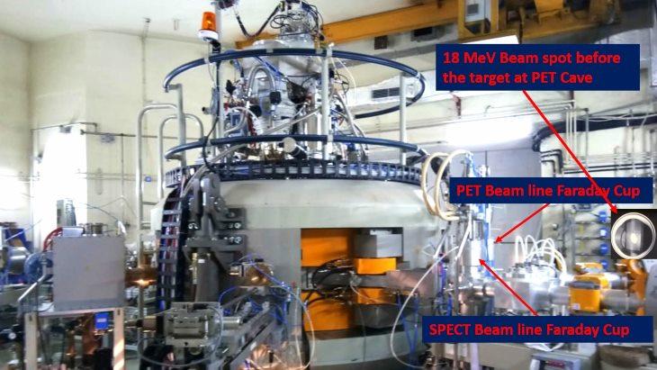 jaderná energie - Indický cyklotron začal vyrábět radionuklidy - Věda a jádro (Cyclone 30 cyclotron VECC Kolkata India DAE) 3