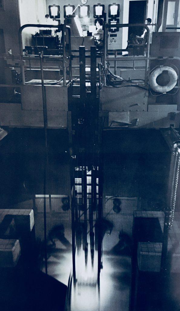 jaderná energie - Bazénové reaktory – větší plány, lepší vybavení - Fotografie (Ford Reactor full height view) 10